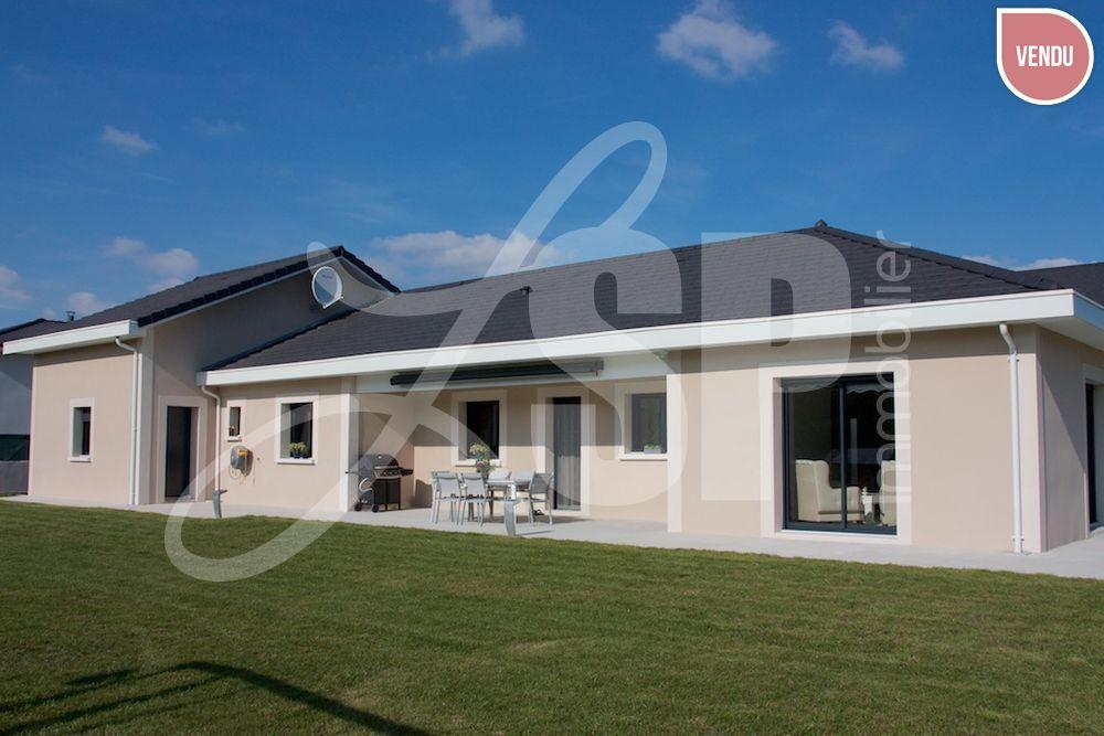 Villa plain pied with plain pied for Architecte coulommiers